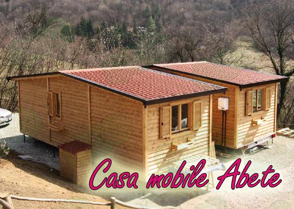 casa prefabbricata mobile Abete