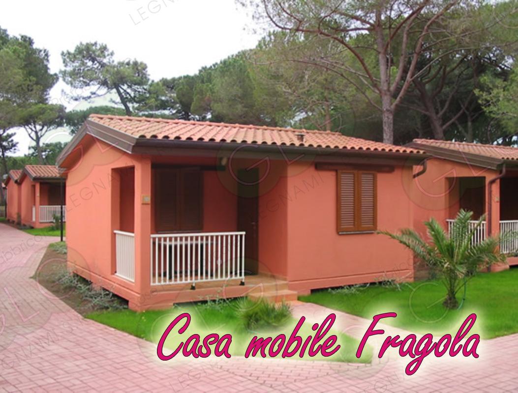casa prefabbricata mobile Fragola