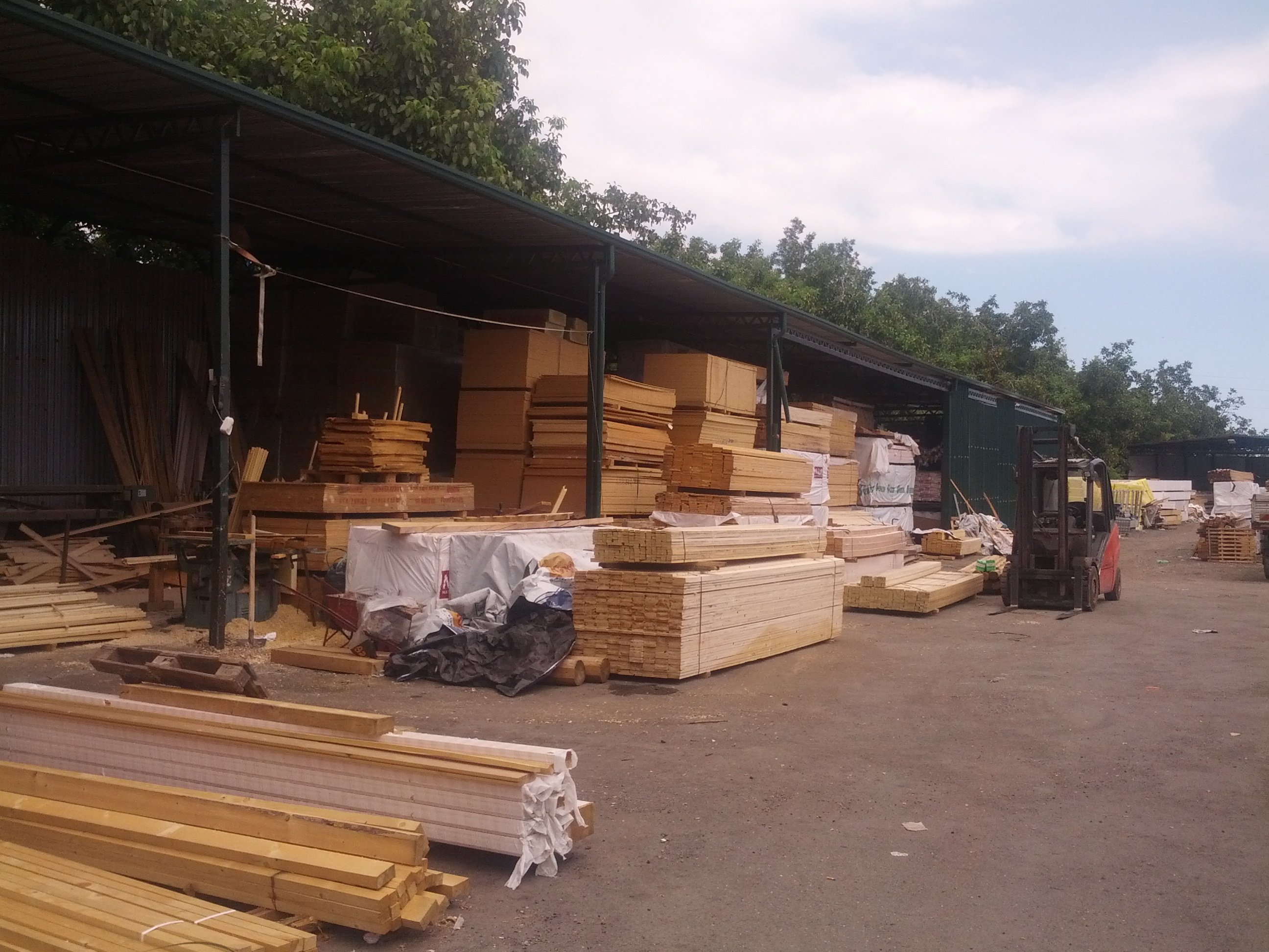 deposito fornitura materiali edili