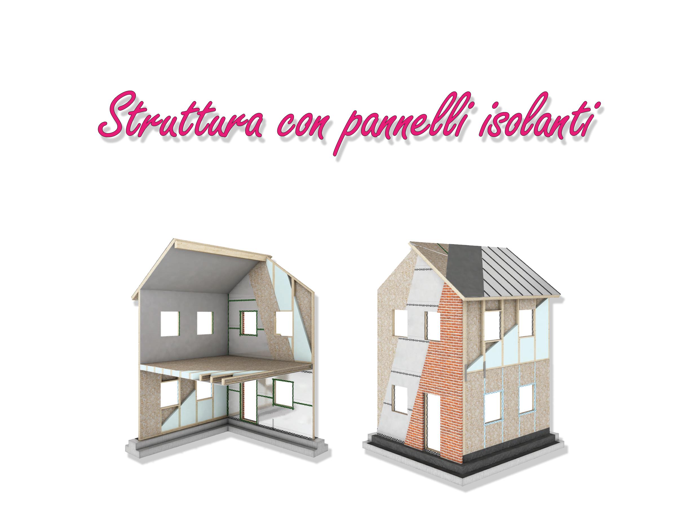 Casa prefabbricata - Pannelli isolanti