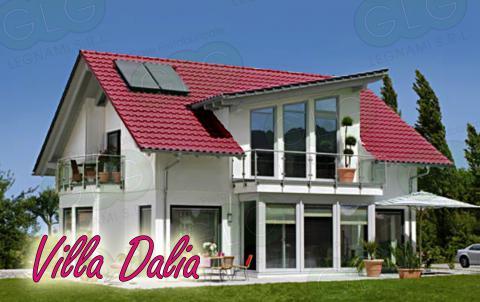 Casa prefabbricata ecologica Villa Dalia