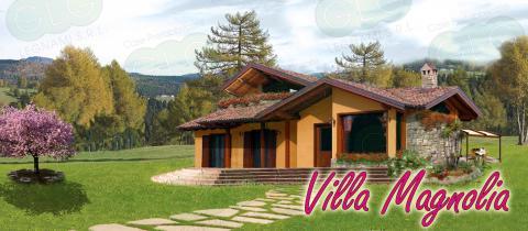 Casa prefabbricata ecologica Villa Magnolia
