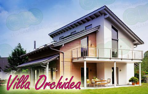 Casa prefabbricata ecologica Villa Orchidea