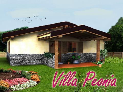 Casa prefabbricata ecologica Villa Peonia